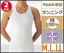 やわらか肌着 ランニングシャツ 2枚組 こだわりコットン グンゼ GUNZE|半袖 半そで tシャツ メンズ 肌着 紳士肌着 男性下着 男性 インナー インナーシャツ メンズインナーシャツ インナーtシャツ アンダーウェア アンダーウエア アンダーシャツ ランニング