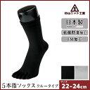 杉山ニット工業 EMソックス 婦人オールシーズン レディースソックス 5本指 日本製 くつした くつ下 靴下 通販