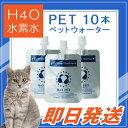 キャンペーン!【即日出荷】H4O PET 10本セット 水素水 最短便 ペット用ウォーター