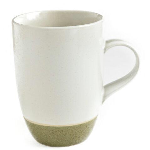 【リンドスタイメスト】two tone moss 塗り分け モス 苔色 塗り分け トール マグカップ 1個