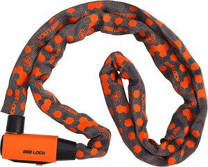 リード工業(LEAD) バイク用ロック BEE LOCK (ビーロック) チェーンロック 1800mm (チェーン直径6mm) LC-403A