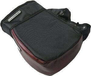 リード工業(LEAD) バイク用 コンパクトハンドルカバー キューブ 簡単装着 防水 マルーン フリーサイズ KS270B