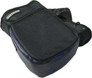 リード工業(LEAD) バイク用 コンパクトハンドルカバー キューブ 簡単装着 防水 ネイビー フリーサイズ KS270C