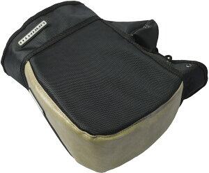 リード工業(LEAD) バイク用 コンパクトハンドルカバー キューブ 簡単装着 防水 サンドベージュ フリーサイズ KS270D
