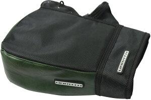 リード工業(LEAD) バイク用 コンパクトハンドルカバー キューブ 簡単装着 防水 オリーブグリーン フリーサイズ KS270E