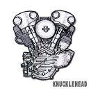HARLEY-DAVIDSONエンジンパッチナックルヘッド KNUCKLE HEAD ワッペン ハーレー