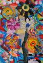 美術, 美術品, 古董, 民間工藝品 - 【作家名】秋永清二【作品名】花ぐるぐる