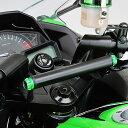 デイトナ DAYTONA 95370 セパハン用マルチバーホルダー キャップボルトカラーM8 ライムグリーン付属 カワサキ Ninja250R/Ninja250