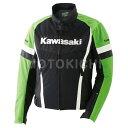 Kawasaki純正 カワサキ レーシングメッシュ ブルゾン 16 グリーン J8001-2571 J8001-2572 J8001-2573 J8001-25...