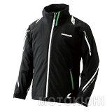 Kawasaki×RSタイチ カワサキ オールシーズンジャケット ブラック/グリーン J8001-2619 J8001-2620 J8001-2621 J8001-2622