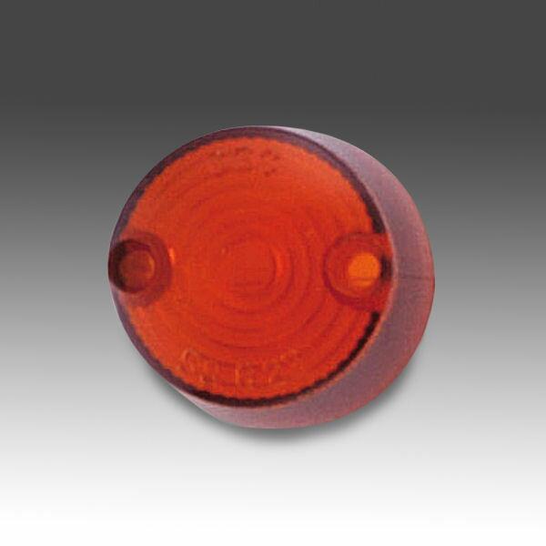 キジマ (KIJIMA) 217-4048 ウインカーレンズ補修用 219-5075/5076用 2個セット オレンジレンズ