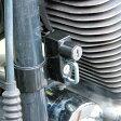 【あす楽対応】 キジマ HD-05140 ヘルメットロック 35φダウンチューブ取付用ブラック 【ハーレー】