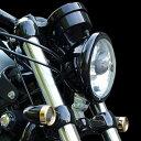 キジマ (KIJIMA) HD-01550 ヘッドライトベゼル ブラック ハーレー 04年以降〜 スポーツスター