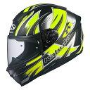 【メーカー取寄せ】OGKカブト AEROBLADE5 HURRICANE ハリケーン フラットブラックイエロー フルフェイスヘルメット XS〜XXLサイズ エアロブレード5