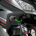 POSH ポッシュ 134079 ウインカーレンズセット スモーク フロント Ninja250【KAWASAKI】