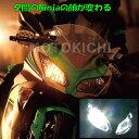 プロテック 65009 LB7W-KN LEDヘッドライトバルブキット H7 Hi/Lo ※Hi側専用 6000K Ninja1000('11〜) Ninja4...
