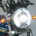 プロテック 63050-60 LH-3050 LEDプロジェクターヘッドライト 180φ ネイキッド 丸目タイプ 5000K