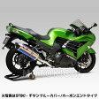 ヨシムラ YOSHIMURA 110-214-L05G1 HEPTA FORCE サイクロン EXPORT SPEC カーボンエンド/ステンレスカバー スリップオンマフラー ZX-14R('12〜:東南アジア仕様/ABS仕様)