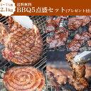 【送料無料】【5〜7人前】BBQ5点盛セット2.1kgプレゼ...