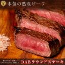 DABラウンドステーキ200g×2枚 熟成肉 赤身肉 ステー