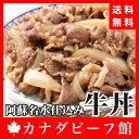 阿蘇名水仕込みのつゆだく[牛丼]10個セット グッとくる赤身の旨味とほんのりとした脂の甘味が絶品!!