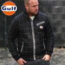【ガルフ/GULF】スーパー パイロット ブラック メンズ SUPER PILOTA アウター キルティングジャケット