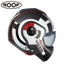 【ルーフ/ROOF】BOXER V8 TARGET ボクサー ターゲット ホワイト×レッド×ブラック システムヘルメット バイク【送料無料】 ギフト