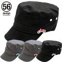 ポイント2倍【56デザイン/56design】Digibike Work Cap デジバイク ワークキャップ フリーサイズ 帽子