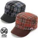 ポイント2倍【56デザイン/56design】56design Winter Work Cap キャップ 帽子 ワークキャップ デジバイク ロゴ