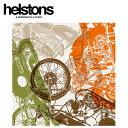 【ヘルストン/helstons】スカーフ SCARF FIESTA 白いTシャツと黒いバイク バイク柄 逆輸入【メール便可】