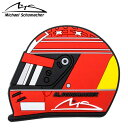【ミハエル シューマッハ/Michael Schumacher】シューマッハ ヘルメット 2000 マグネット F1 グッズ フェラーリ【メール便可】