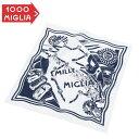 ショッピング車 【ミッレ ミリア/Mille Miglia】バンダナ ホワイト