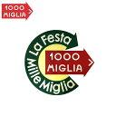 【ミッレ ミリア/Mille Miglia】ラ・フェスタ・ミッレ・ミリア ステッカー LA FESTA MILLE MIGLIA STICKER ロゴ【メール便可】【プレゼント ギフト】