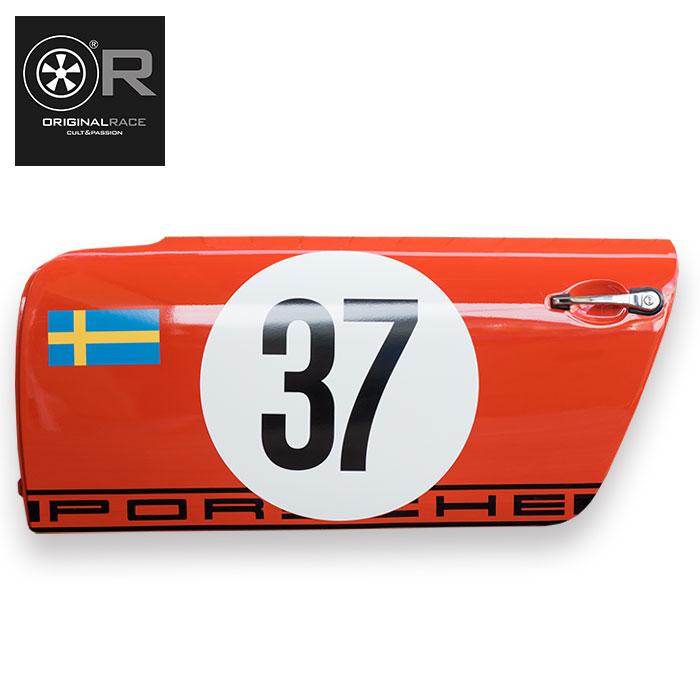 受注生産【オリジナル レース/Original Race】ポルシェ911 ドア 1969 ポルシェ 911 S モンテカルロ ラリー(37号車)ディスプレイ用 1/1サイズ