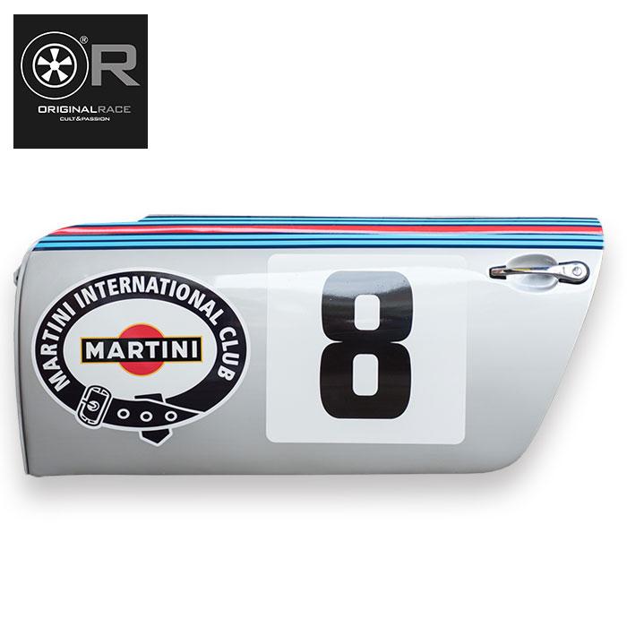 受注生産【オリジナル レース/Original Race】ポルシェ911 ドア 1973 ポルシェ911 RSR マルティーニ・レーシング(8号車)ディスプレイ用 1/1サイズ