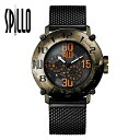 【スピーロ/SPILLO】OUTLAW 1000-V6 腕時計 メンズ イタリア バイク カフェレーサー【プレゼント ギフト】