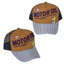 【あす楽対応】エッソ メッシュキャップ モーターオイル Mesh cap/Motoroil 480225