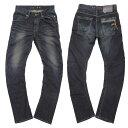 56design×EDWIN×GOGGLE 056 Rider Jeans/ライダージーンズ(グリーン・ダメージウォッシュ)(メンズ ファッション ジーンズ デニム ジーパン Gパン ブランド ライダース パンツ ライダーズ ボトムス エドウィン バイカー 父の日 プレゼント 贈り物 ライダー ツーリング)