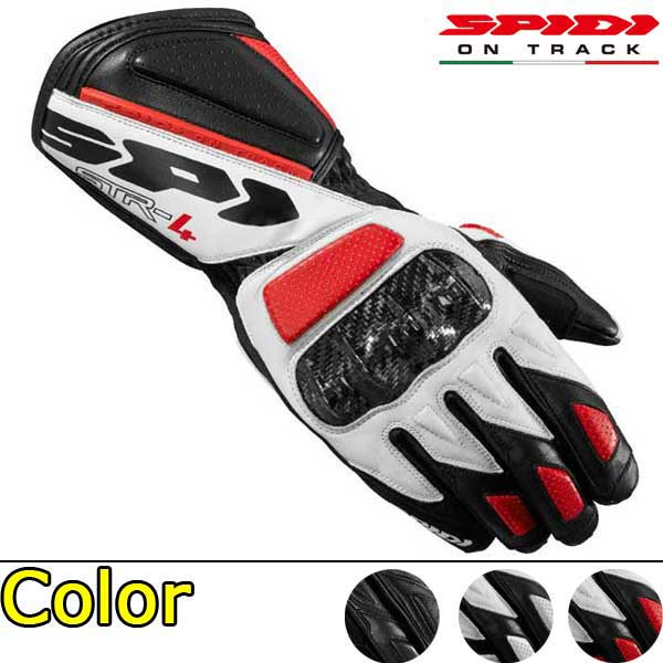 送料無料スピーディ(SPIDI)スポーツグローブSTR-4|グローブバイク用品メンズライダース手袋レ