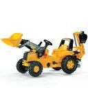 【送料無料】乗れる!はたらくクルマロリートイズ(rolly toys) CATジュニアトラック(3歳から)