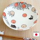 ムーミン 陶器のボウル17cm citrus dots/シトラスドット リトルミイ【店頭受取も可 吹田】