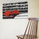 ファブリックパネル ヴァッリラ VALLILA Apassionata/RED 120×75cm インテリア 壁掛 壁飾【店頭受取も可 吹田】