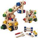 【送料無料】木のおもちゃプラントイ コンストラクションセット60(3歳から)