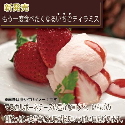 ホワイトデー バレンタインのお返しに《もう一度食べたくなるいちごティラミス》☆絶品・高級・スイーツ・デザート お取り寄せ☆【お誕生日やホームパーティーのデザートに!】甘さ控えめ甘酸っぱいスイーツです