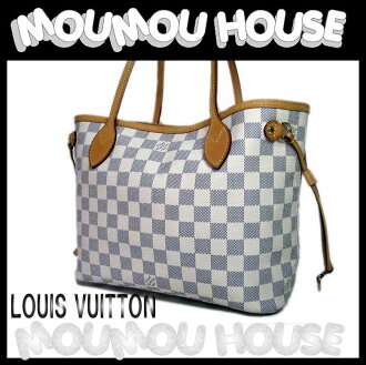 Louis Vuitton ■ ダミエアズール ■ ネヴァーフル PM ■ tote bag ■ beauty product ♪ Vuitton Louis Vuitton Louis Vuitton Vuitton tote bag LV Lady's LOUIS VUITTON