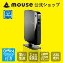 【送料無料】マウスコンピューター デスクトップパソコン 《 LM-mini75S-S1-MA-NL-AB 》 【 Windows 10 Home/Celeron 3855U/4GB メモリ/500GB HDD/Microsoft Office付き(Home&Business Premium) 】《新品》