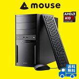 【ポイント10倍】【送料無料】マウスコンピューター デスクトップパソコン [ LM-AR353XN-SH2-MA ] 【 Windows 10 Home/AMD A10-7870K/16GBメモリ/240GB SSD/3TB HDD 】