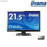 ��LED�� iiyama E2282HS-GB1 �ե�HD 21.5���磻�ɱվ��ǥ����ץ쥤 ��1920x1080/�磻��/HDCP�б�/����®��2ms/����ȥ饹����5,000,000��1�ʺ���ˡۡ㿷�ʡ�