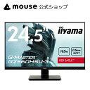 ゲーミングディスプレイ iiyama G-MASTER G2560HSU-3 24.5型 フルHD ワイド液晶ディスプレイ 1,920×1,080(最大) TN方式パネル モニター リフレッシュレート165Hz入力・高速応答速度0.5ms対応<新品>
