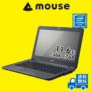 【ポイント10倍】【送料無料】マウスコンピューター ノートパソコン 《 MB-C250E1-S-MA 》 【 Windows 10 Home/Celeron N3450/4GB メ..